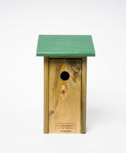 Vogelhuisje nestkast koolmees