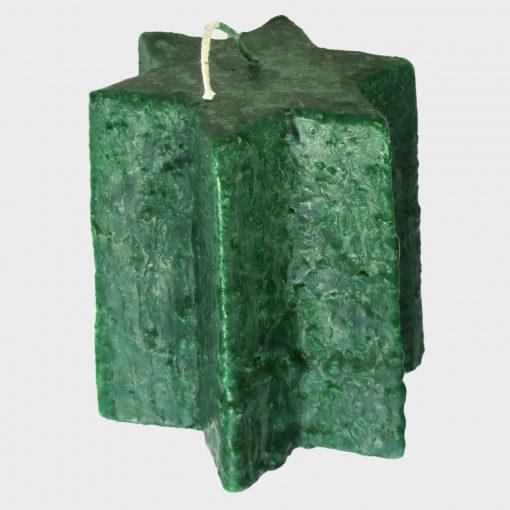 Kaars groen B grijs