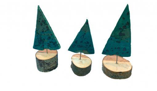 set kerstboompjes 2